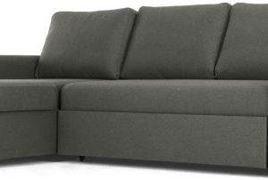 Aidian Corner Storage Sofa Bed, Pigeon Grey