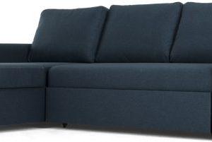 Aidian Corner Storage Sofa Bed, Regal Blue