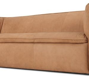 Berko 3 Seater Sofa, Tan Leather