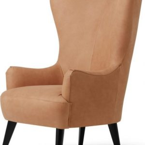 Bodil Accent Armchair, Tan Leather