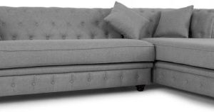 Branagh Right Hand Facing Chaise End Corner Sofa, Pearl Grey