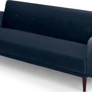 Chou Click Clack Sofa Bed, Sapphire Blue Velvet