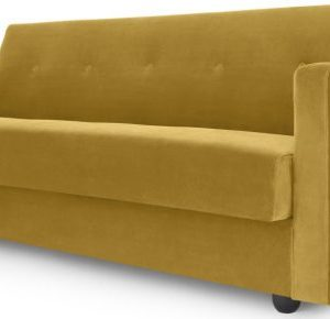 Chou Click Clack Sofa Bed with Storage, Vintage Gold Velvet