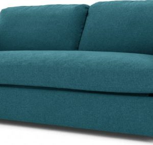 Fletcher 3 Seater Sofabed with Memory Foam Mattress, Mineral Blue