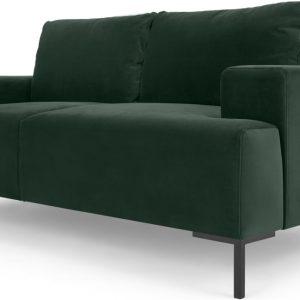 Frederik 2 Seater Sofa, Autumn Green Velvet