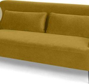 Giselle 2 Seater Sofa, Vintage Gold Velvet