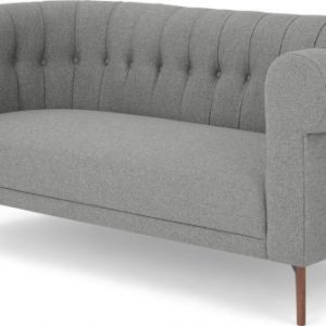 Hammond 2 Seater Sofa, Mountain Grey