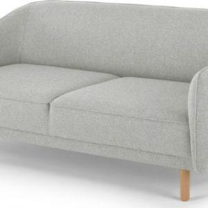 Haring 3 Seater Sofa, Silver Grey