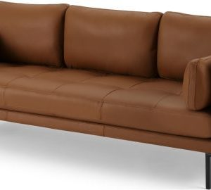 Harlow 3 Seater Sofa, Denver Tan Leather