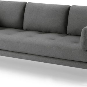 Harlow 3 Seater Sofa, Elite Grey