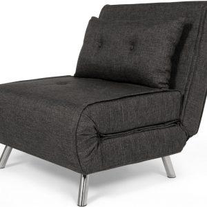 Haru Single Sofa Bed, Cygnet Grey