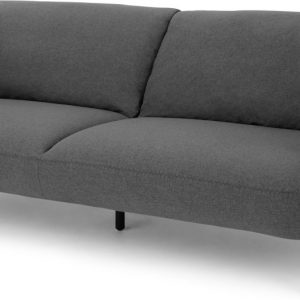 Inka 3 Seater Sofa, Marl Grey