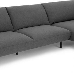 Inka Right Hand Facing Chaise End Corner Sofa, Marl Grey