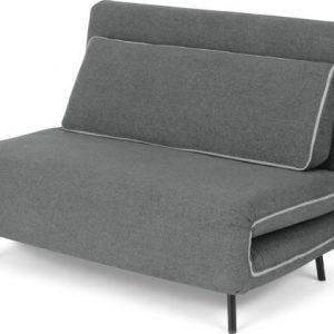 Kahlo Double Seat Sofa Bed, Salt Grey