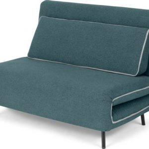 Kahlo Double Seat Sofa Bed, Sherbet Blue