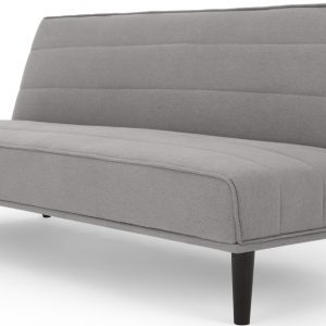 MADE Essentials Kitto Click Clack Sofa Bed, Marshmallow Grey