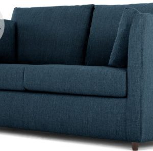 Milner Sofa Bed with Memory Foam Mattress, Arctic Blue