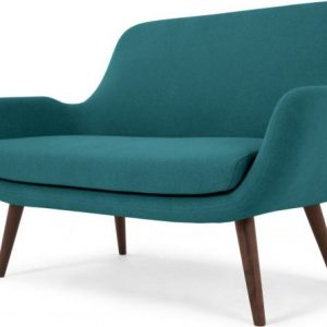 Moby 2 Seater Sofa, Mineral Blue