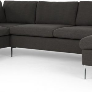 Monterosso Left Hand Facing Corner Sofa, Oyster Grey