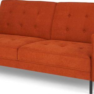 Rosslyn Click Clack Sofa Bed, Sedona Orange