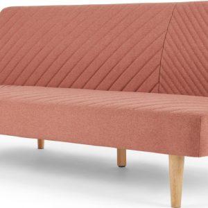 Ryson Click Clack Sofa Bed, Dusk Pink