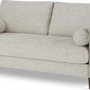 Scott Large 2 Seater Sofa, Ivory Weave