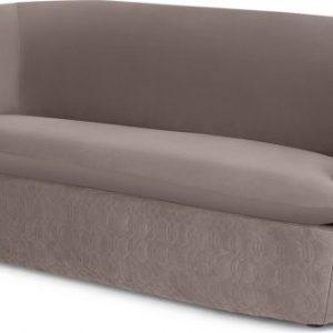 Tandy Large 2 Seater Sofa, Soft Mauve Velvet