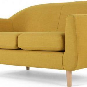 Tubby 2 Seater Sofa, Retro Yellow