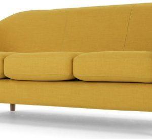 Tubby 3 Seater Sofa, Retro Yellow