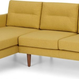 Walker Left Hand Facing Chaise Corner Sofa, Orleans Yellow