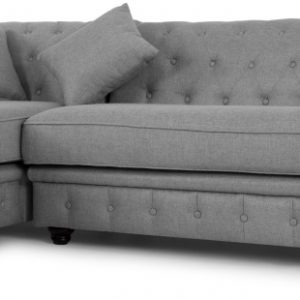 Branagh Left Hand Facing Chaise End Corner Sofa, Pearl Grey