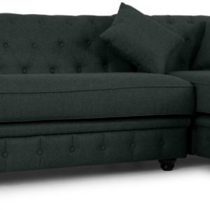 Branagh Right Hand Facing Chaise End Corner Sofa, Anthracite Grey