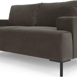 Frederik 2 Seater Sofa, Otter Velvet