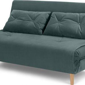 Haru Large Double Sofa Bed, Marine Green Velvet