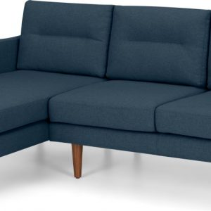 Walker Left Hand Facing Chaise Corner Sofa, Orleans Blue