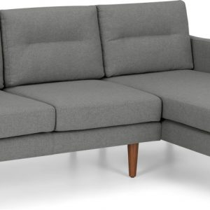 Walker Right Hand Facing Chaise Corner Sofa, Mountain Grey