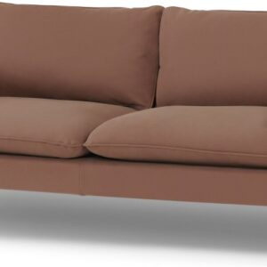 Fallyn 3 Seater Sofa, Nubuck Brown Leather