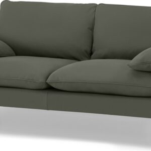 Fallyn Large 2 Seater Sofa, Nubuck Loden Leather