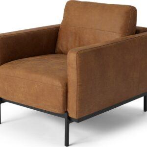 Jarrod Armchair, Outback Tan Leather