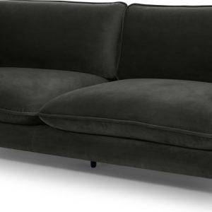 Wes 3 Seater Sofa, Mourne Grey Velvet