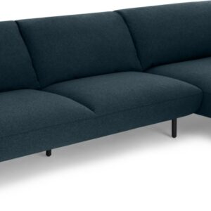 Inka Right Hand Facing Chaise End Corner Sofa, Aegean Blue