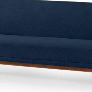 Lars Click Clack Sofa Bed, Midnight Micro Corduroy Velvet