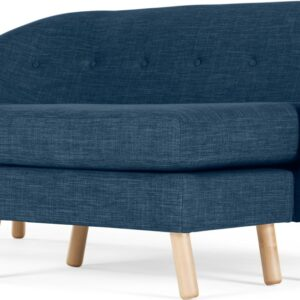 Lottie Compact Chaise End Corner Sofa, Harbour Blue