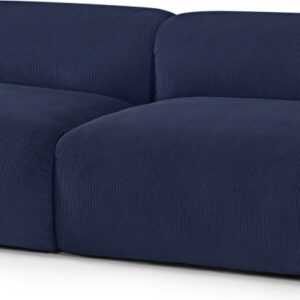Avalon 3 Seater Sofa, Navy Corduroy Velvet